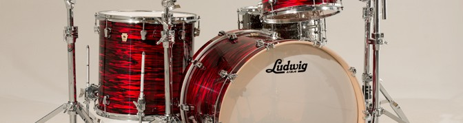 Ludwig endorsement for Tom Auf Der Axe