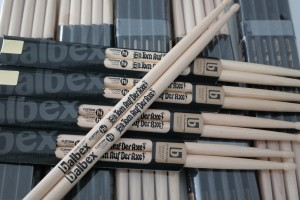 Tom Auf Der Axe signature drumsticks by Balbex