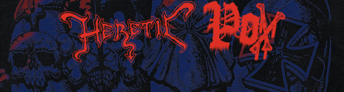 Heretic – Pox split 7″ out now!